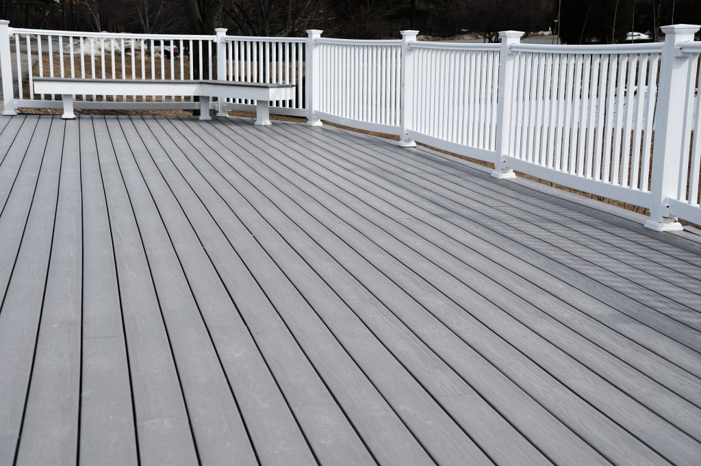 composite deck builder contractor little rock arkansas decks decking contractors best quality professional vinyl deck pvc deck