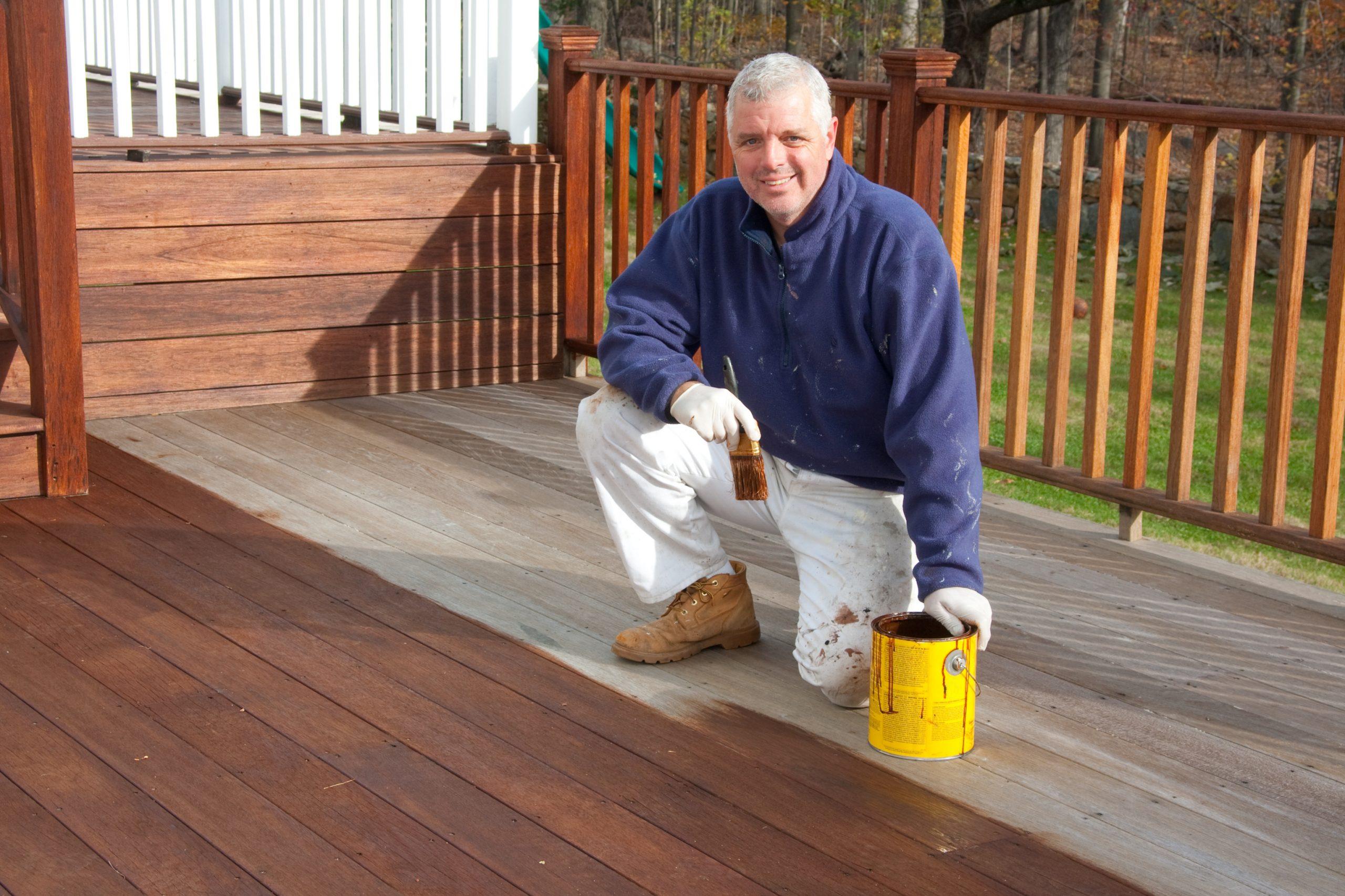 deck stain seal deck builder contractor little rock north little rock jacksonville cabot sherwood arkansas ar nlr lr