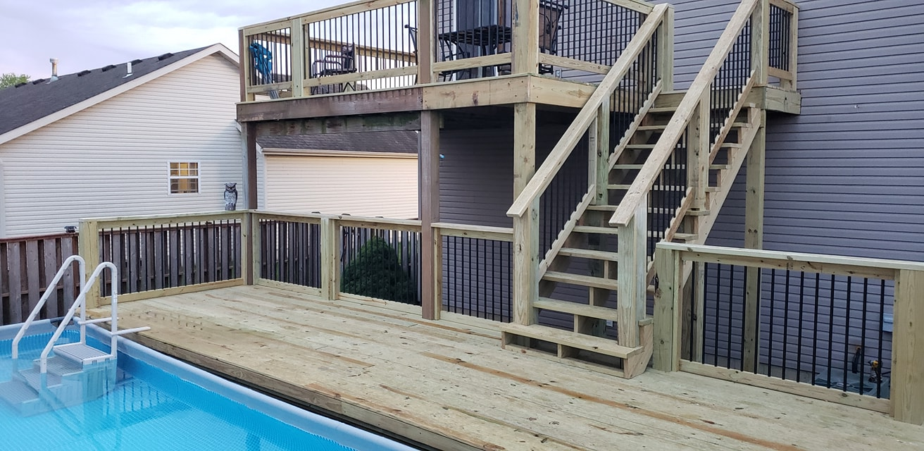 pool deck builder little rock arkansas