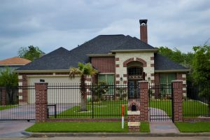 wrought iron fence security gate little rock ar